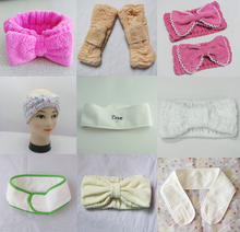 different kinds of fashion head band for sport, salon and beauty