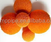 The hot sale concrete pump spare parts / accessories rubber cleaning spong ball(all size)