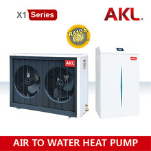 Split Extremely Cold High Efficiency Air to Water Low Temperature EVI Heat Pump With High COP Under 25'C - European Standard