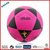Laminovana futsalova ruzova loptaLaminated Futsal pink soccer ball-Tibor
