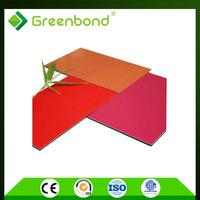 Greenbond gashionable rotating billboard signage material