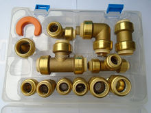 Lead free brass USA CANADA Quick Connect with PEX COPPER CPVC PIPE FITTINGS push fit fitting