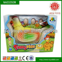 High quality products electric hen toys for kids with music