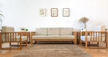 New style most popular arabic teak wood sofa set designs