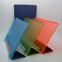 100% PC+PU Material luxury leather case for ipad mini