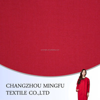 wool/ycra/cotton blend fabric, red wool fabric for women coats, winter clothing fabric