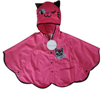 Customized logo Kids Raincoat
