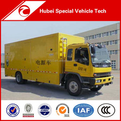 Mobile Power Supply Truck Imported from China
