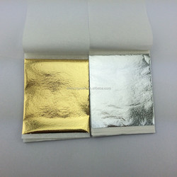 Hotel furniture decoration film gold silver leaf
