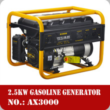 Honda design generator, portable gasoline generator, 220 volt portable generator