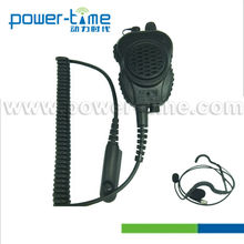 Lightweight Speaker Mic forTwo-Way Radios GP308/GP360/CP140 with Hand-operated activation