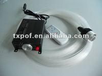 Hot selling 16W RGBW LED Fiber Optic Star Ceiling Light Kit 240pcs 2M 0.75mm fibre optic lighting