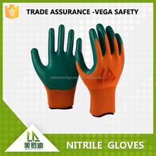 13G Nitrile Coated Nylon Working Glove nylon glove winter work gloves