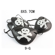 Party Halloween plastic pirate eye patch HAL-0009