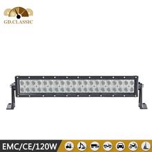 Auto lighting system 120w 4x4 LED light bar LED truck light KR9027-120