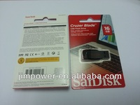 SanDisk Cruzer Blade USB Flash Drive 16GB SDCZ50