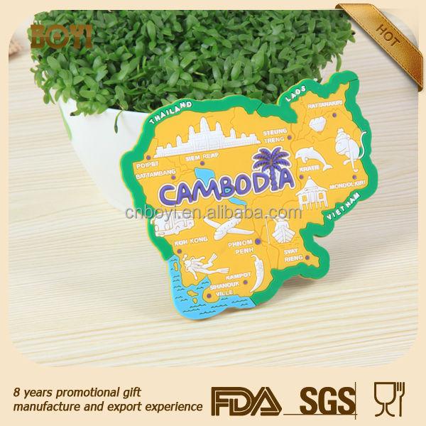 China manufacturer 3d fridge magnet/rubber fridge magnet/3d soft pvc fridge magnet