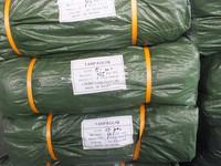 lumber tarps 100% virgin raw HDPE military green sliver 3 feet micro-perforation reinforced plastic sheet high tensible outdoor