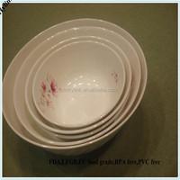 Wholesale melamine bowl set plastic mixing bowls set melamine waven bowl set