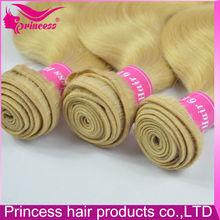 2015 most beautiful popular unprocessed body wave 613 blonde virgin hair