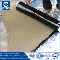 Self adhesive asphalt sheet roofing/asphalt waterproofing felt
