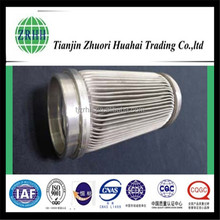 Deionized water type of stainless steel filter elements with high performance