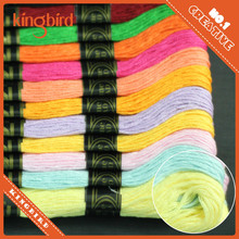Hand craft cross stitch dmc thread cotton yarn
