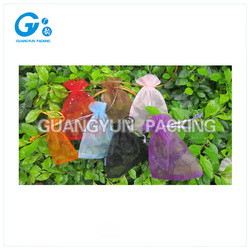 Best price organza bag/christmas gift bag/organza pouch with good sale