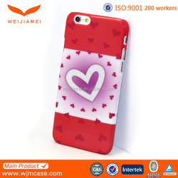For Customized Iphone Case, Custom Printing Plastic For Iphone 6/ Plus Case Factory