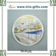 custom ceramic plate handpainted plate