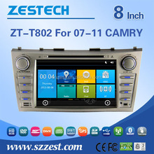 red power car dvd For TOYOTA 2007-2011 CAMRY support Radio/Audio/GPS/DVD/RDS/Bluetooth/MP4 player/HDMI