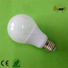Factory price aluminum and plastic E27 B22 5w led bulb