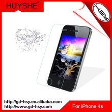 HUYSHE Funny cell phone accessories for iphone 4&for iphone 4s glass mobile phone screen protector for iphone4