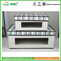 2015 Home collapsible large multipurpose storage box open front
