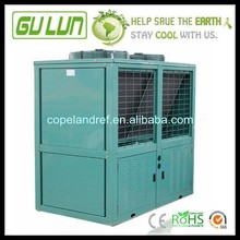 Semi-hermetical Box V type Compressor condensing cold room condenser unit