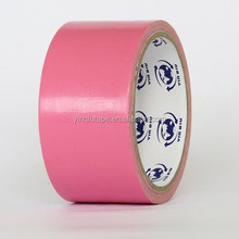 Yinqiu ,custom PVC Acrylic duct tape ,color cloth tape