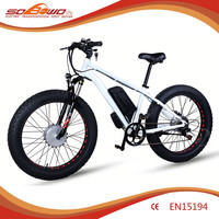 2015 SOBOWO 36V Double Lithium battery E-bike Powered for sale