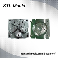 High quality Fan Blades Plastic Injection Mold