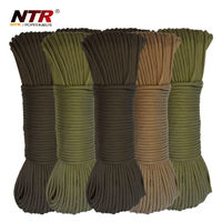 NTR braided rope military parachute rope
