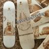 custom Laser engraving 7 ply canadian skateboard deck canadian maple