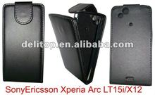 flip leather case for Sony Ericsson Xpedia Arc LT15i/X12
