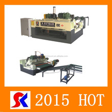4ft cnc plywood veneer rotary machine