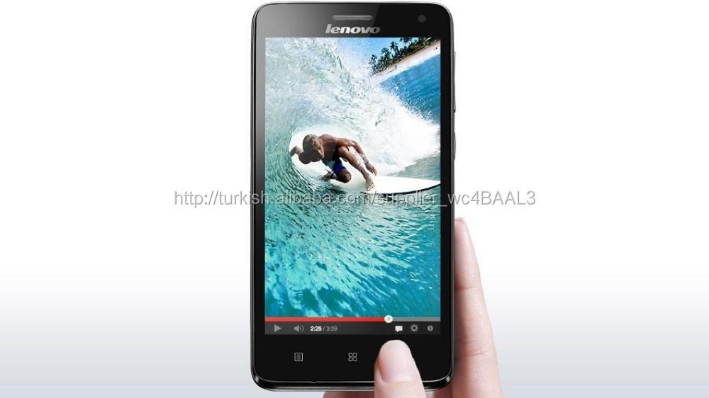 Akıllı telefon lenovo S660 mtk6582 dört çekirdekli 1gb+8gb 4.7 inç ips cep telefonu
