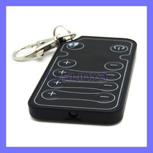 10 Keys Keychain Code Custom IR Wireless Remote Controller For Audio