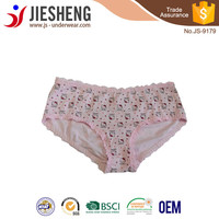 Cartoon cotton girl panties accept customized design JS9179