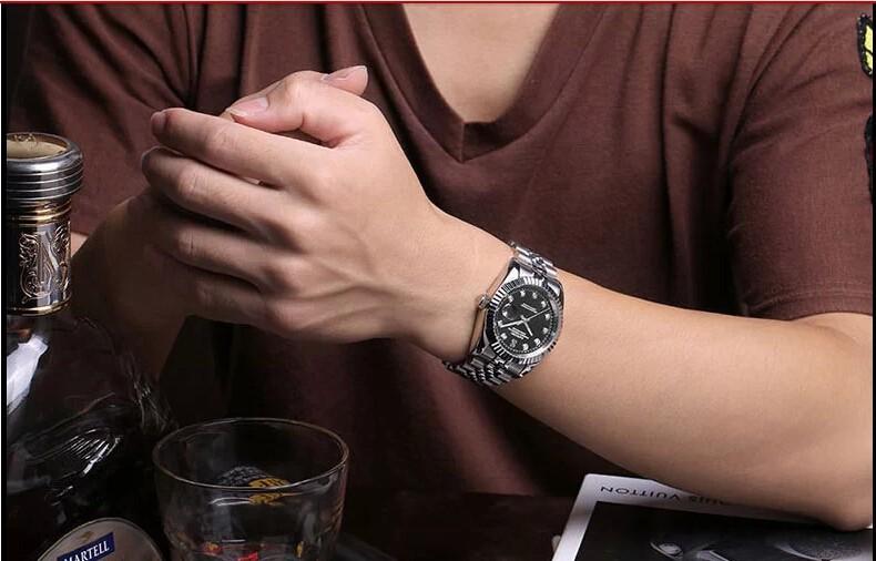 38 ММ SANGDO 0243D Автоматический Встроенный Windl движения Высокое качество 2016 новая мода мужские часы
