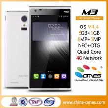 "Dual Sim Cards M3+ 5"" 5 inch MTK6735 Quad Core FDD LTE 2GB Ram 16GB Rom android smart phone 4G OEM"