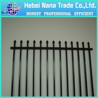 used aluminum fence panels/used fencing for sale