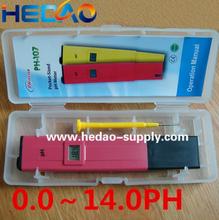PH paper test strips wholesale hand held low cost waterproof ph meter