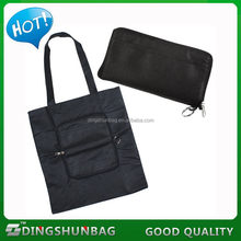 Popular new products tote foldable non woven bag with button